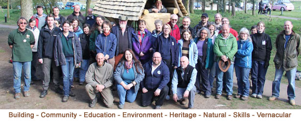Building community using natural materials